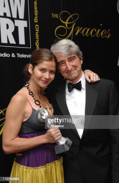 Jill Hennessy winner for Outstanding Female Lead in a Television Drama Series and Sam Waterston