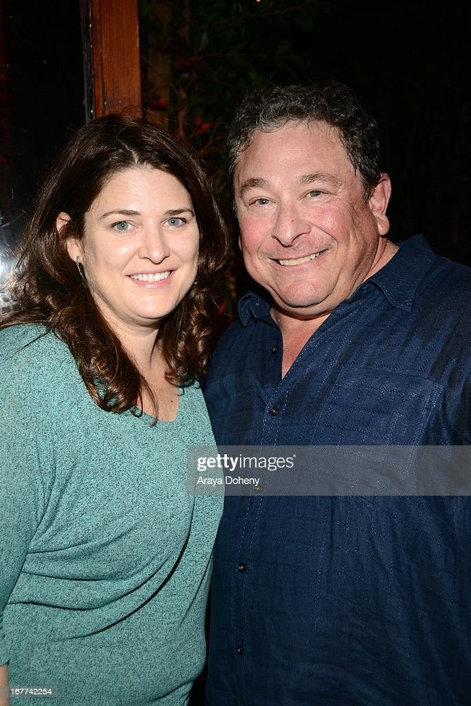 Jill Holmes and Don Stark attend VH1's 'Hit the Floor' Wrap Party on April 28, 2013 in Los Angeles, California.