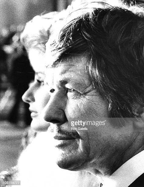 Jill Ireland and Charles Bronson during 46th Annual Academy Awards in New York City New York United States