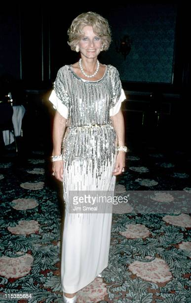 Jill Ireland during 16th Annual Shelby Awards December 4th 1986 at Beverly Hilton Hotel in Beverly Hills California United States