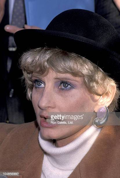 Jill Ireland during Dedication ceremony for 'The Garden of Hope' at Central Park in New York City NY United States