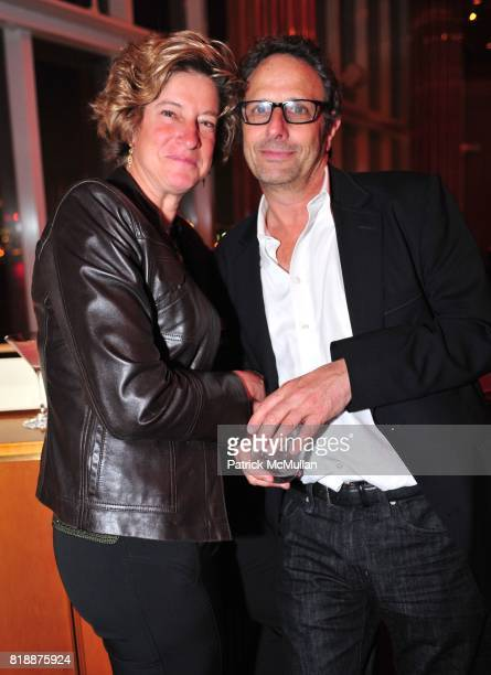 Jill Kalman and Bruce Blank attend NOWNESS Presents the New York Premiere of JeanMichel Basquiat The Radiant Child at MoMa on April 27 2010 in New...