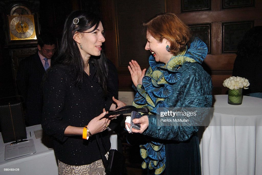 Jill Kargman and Catherine Sweeney Singer attend The 51st Annual Winter Antiques Show Young Collector's Night at The Seventh Regiment Armory on...