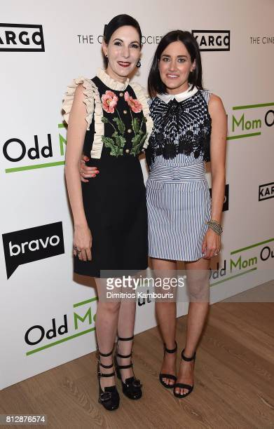 Jill Kargman and KK Glick attend The Cinema Society Hosts The Season 3 Premiere Of Bravo's 'Odd Mom Out' at the Whitby Hotel on July 11 2017 in New...