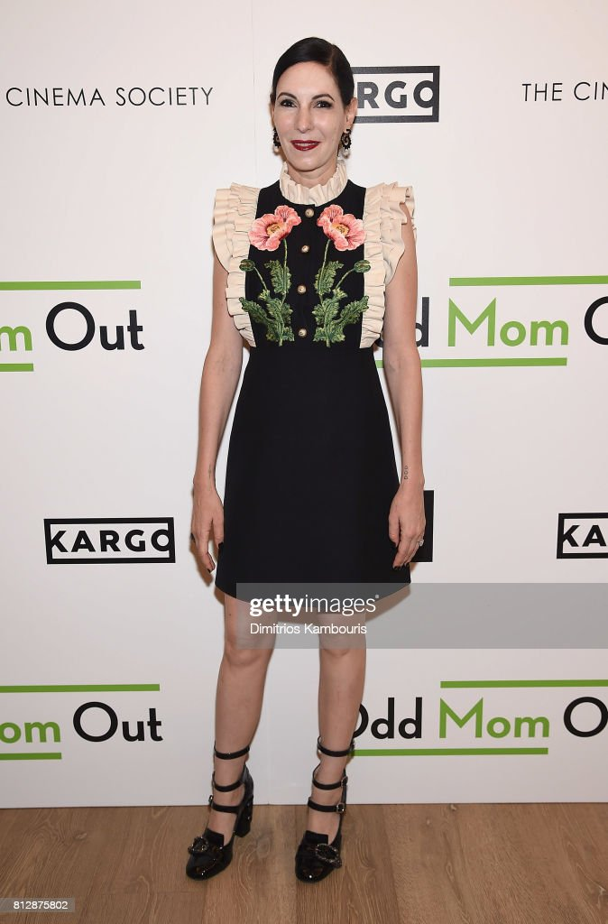 Jill Kargman attends The Cinema Society Hosts The Season 3 Premiere Of Bravo's 'Odd Mom Out' at the Whitby Hotel on July 11, 2017 in New York City.