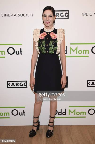 Jill Kargman attends The Cinema Society Hosts The Season 3 Premiere Of Bravo's 'Odd Mom Out' at the Whitby Hotel on July 11 2017 in New York City