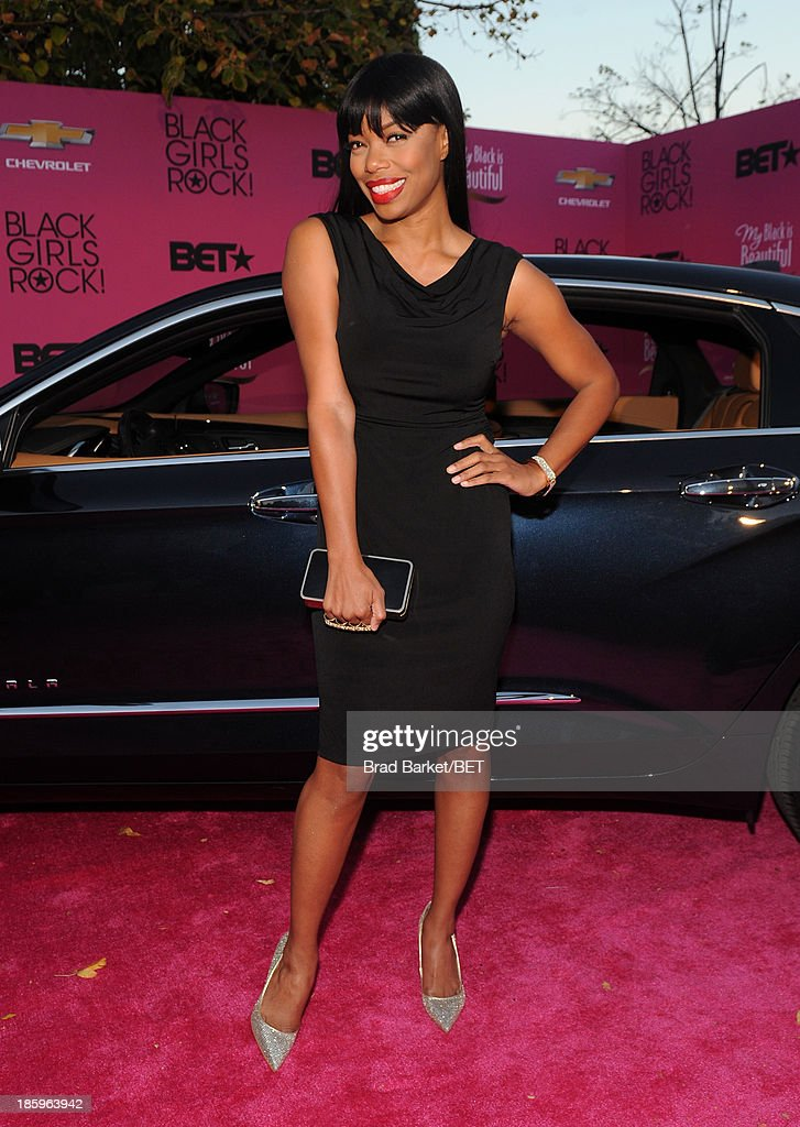 <a gi-track='captionPersonalityLinkClicked' href=/galleries/search?phrase=Jill+Marie+Jones&family=editorial&specificpeople=239481 ng-click='$event.stopPropagation()'>Jill Marie Jones</a> attends BET Black Girls Rock arrivals presented by Chevy at New Jersey Performing Arts Center on October 26, 2013 in Newark, New Jersey.