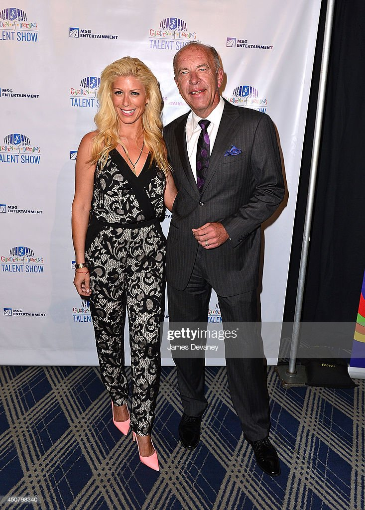 Jill Martin and Al Trautwig attend the 2014 Garden Of Dreams Foundation Talent Show at Radio City Music Hall on June 17 2014 in New York City