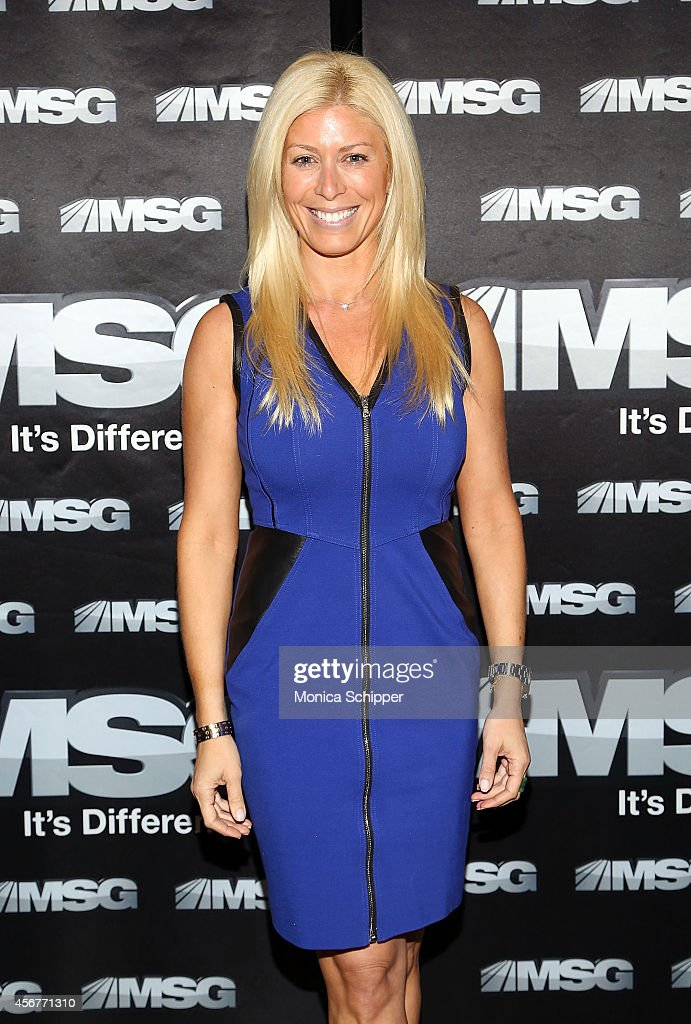 Jill Martin attends MSG Networks' 201415 Season Kickoff at Catch Roof on October 6 2014 in New York City