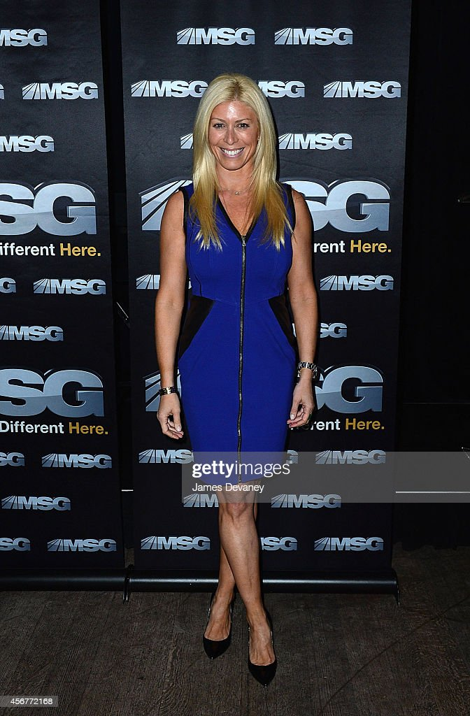 Jill Martin attends MSG Networks' 201415 season launch party at Catch Roof on October 6 2014 in New York City
