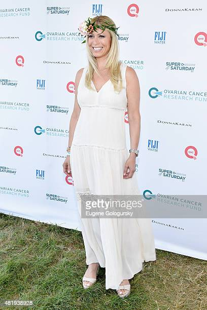 Jill Martin attends OCRF's 18th Annual Super Saturday NY CoSponsored by FIJI Water on July 25 2015 in Water Mill New York