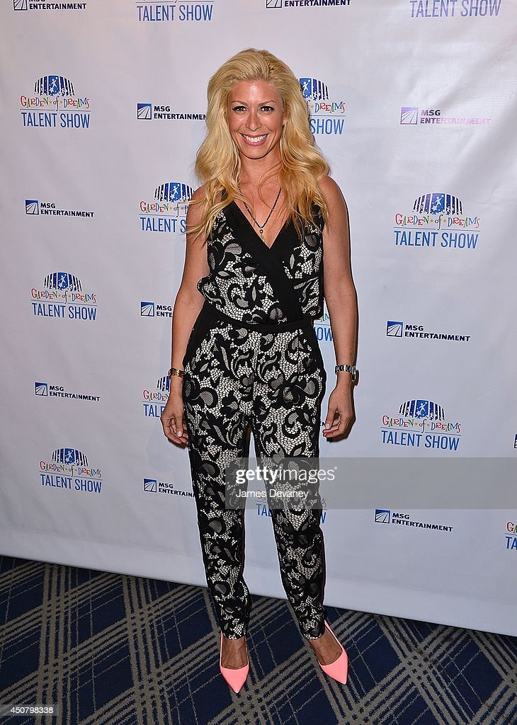 Jill Martin attends the 2014 Garden Of Dreams Foundation Talent Show at Radio City Music Hall on June 17 2014 in New York City