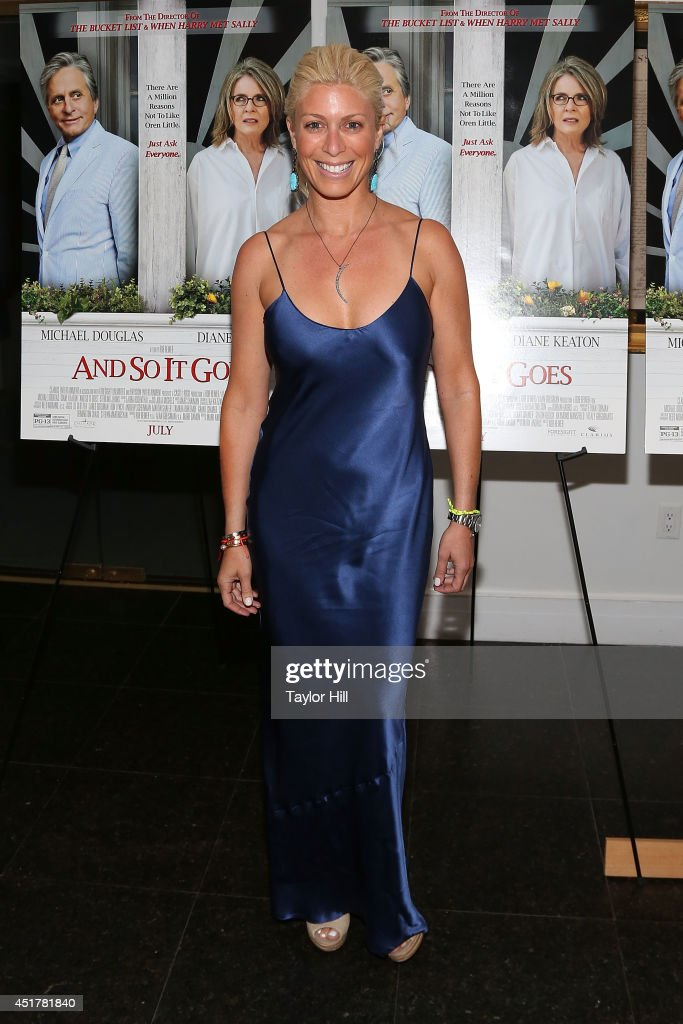 Jill Martin attends the 'And So It Goes' premiere at Easthampton Guild Hall on July 6 2014 in East Hampton New York