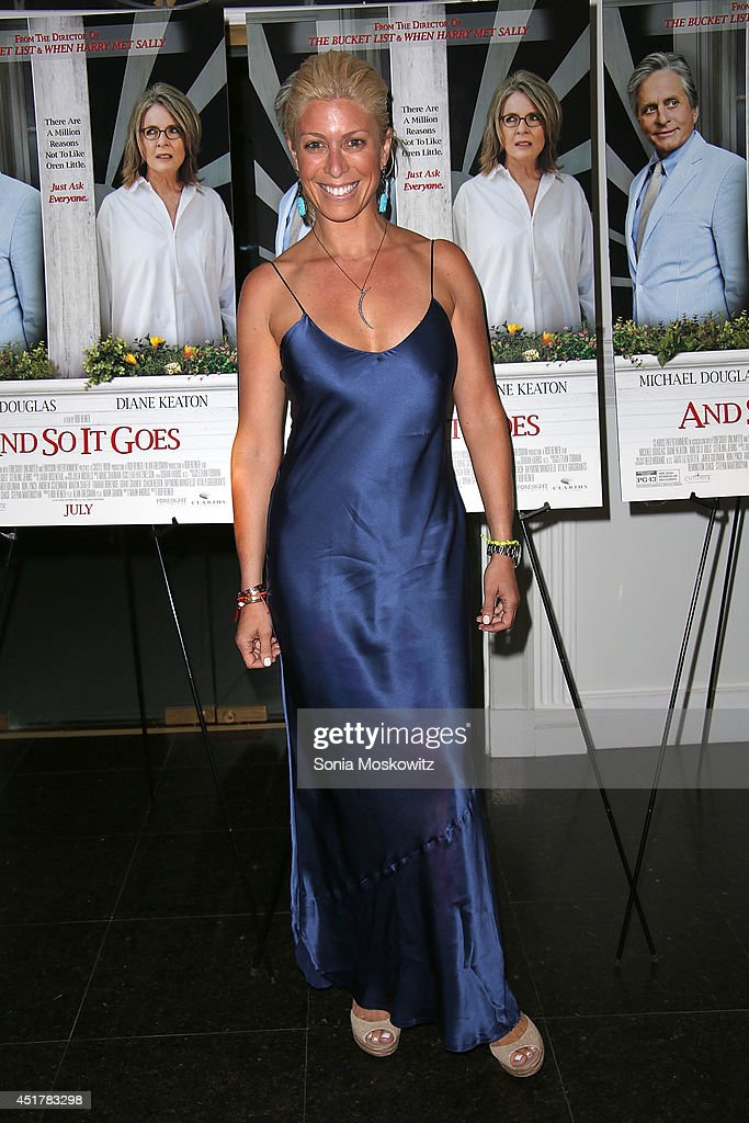 Jill Martin attends the 'And So It Goes' premiere at Guild Hall on July 6, 2014 in East Hampton, New York.