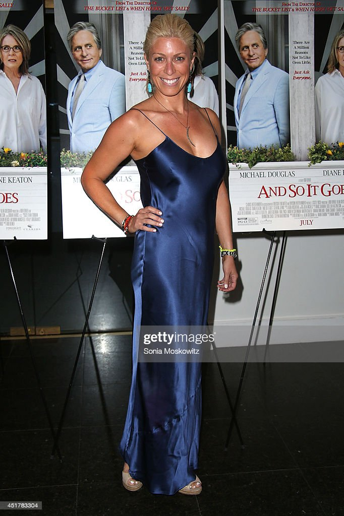 Jill Martin attends the 'And So It Goes' premiere at Guild Hall on July 6 2014 in East Hampton New York