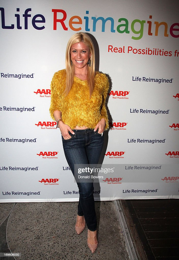 Jill Martin attends The Launch of AARP's 'Life Reimagined' hosted by Emilio Estefan and Dan Marino at La Bottega Trattoria at The Maritime Hotel on May 28, 2013 in New York City.