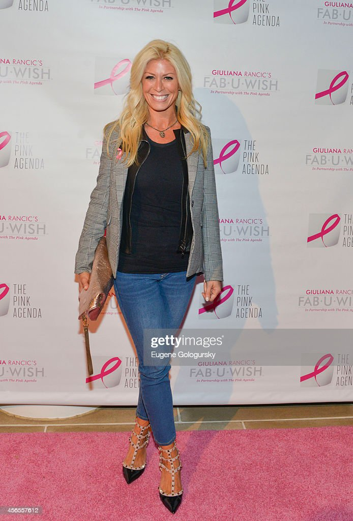 Jill Martin attends The Pink Agenda 7th Annual Gala at IAC Building on October 2 2014 in New York City
