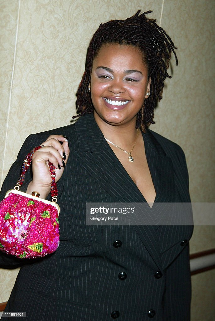 Jill Scott during Artist Empowerment Coalition Luncheon Honoring the Nominees of the 45 Annual Grammy Awards at New York Hilton Hotel in New York, NY, United States.