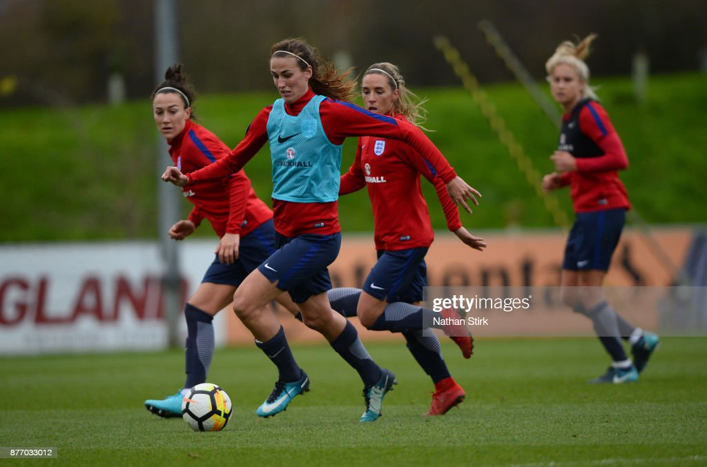 England Women's Training Session
