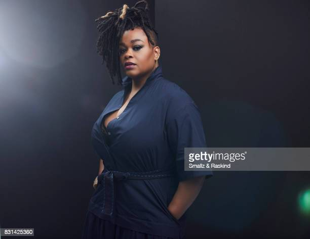 Jill Scott of Lifetime's 'Flint' poses for a portrait during the 2017 Summer Television Critics Association Press Tour at The Beverly Hilton Hotel on...