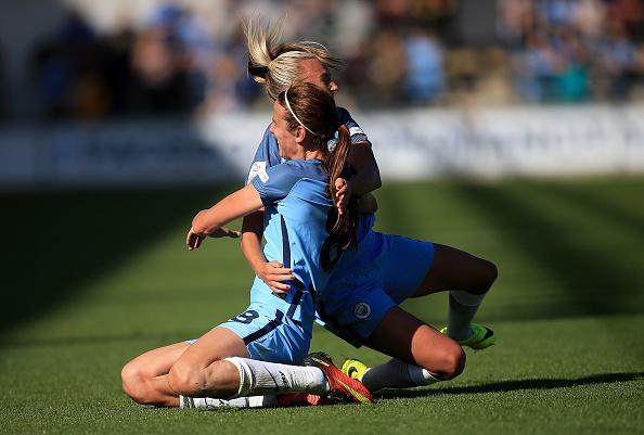WSL 1: Manchester City Women v Chelsea Ladies FC : News Photo