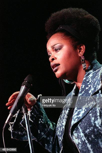 Jill Scott performing at Radio City Music Hall on Saturday night March 17 2001