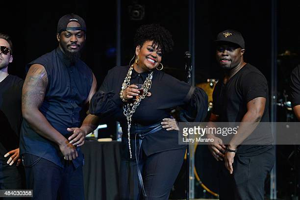 Jill Scott performs at Hard Rock Live held at the Seminole Hard Rock Hotel Casino on August 8 2015 in Hollywood Florida