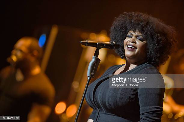 Jill Scott performs at The Louisville Palace on December 11 2015 in Louisville Kentucky