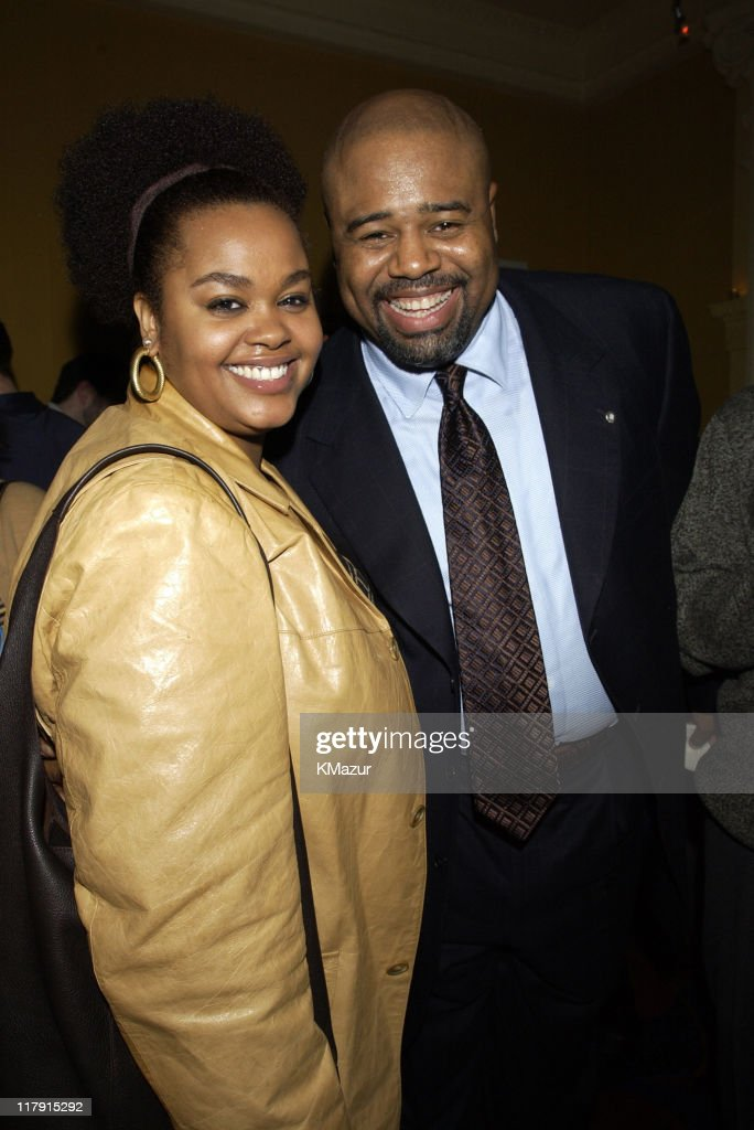 Jill Scott, singer, and <a gi-track='captionPersonalityLinkClicked' href=/galleries/search?phrase=Chi+McBride&family=editorial&specificpeople=227026 ng-click='$event.stopPropagation()'>Chi McBride</a> from 'Boston Public'