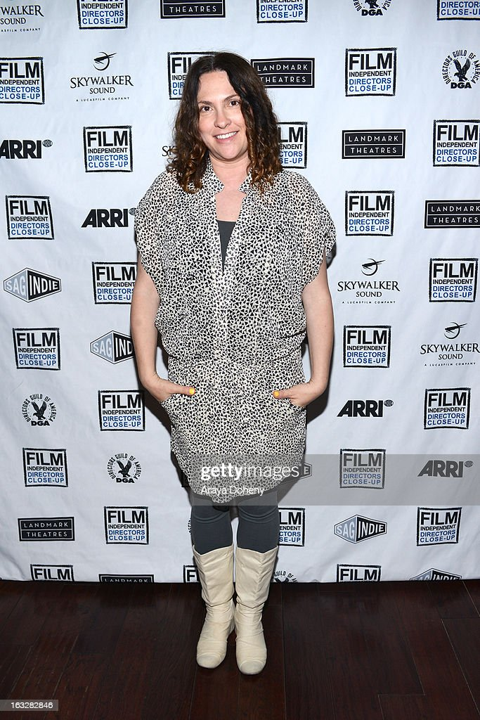 Jill Soloway attends the Film Independent Directors Close-Up 2013 - The Actors: Getting Great Performances at Landmark Nuart Theatre on March 6, 2013 in Los Angeles, California.