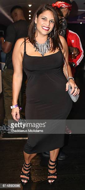 Jill Strada at 2016 REVOLT Music Conference Apple Yacht Party at Eden Roc Hotel on October 14 2016 in Miami Beach Florida