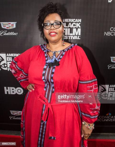 Jill Tracey attends 2017 American Black Film Festival on June 14 2017 in Miami Florida