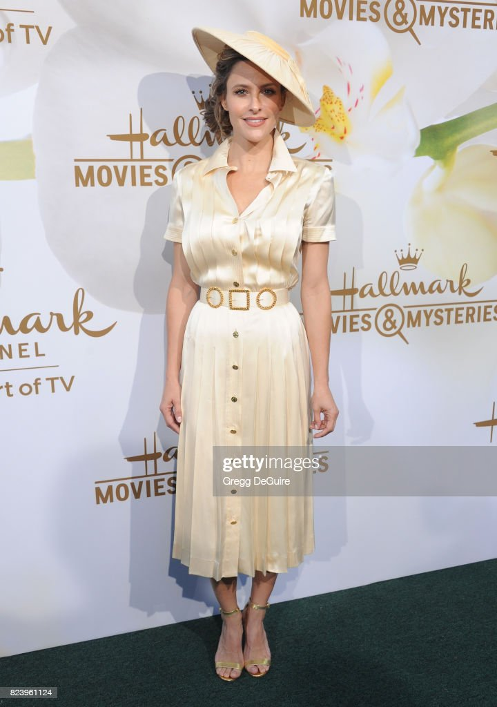 Jill Wagner arrives at the 2017 Summer TCA Tour - Hallmark Channel And Hallmark Movies And Mysteries at a private residence on July 27, 2017 in Beverly Hills, California.