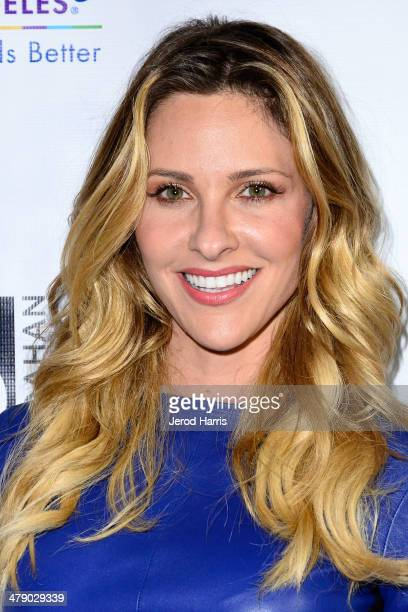 Jill Wagner arrives at the Dream Builders Project's 'A Brighter Future For Children' benefit at HOME on March 15 2014 in Beverly Hills California