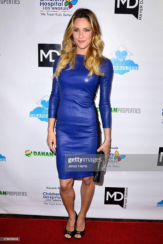 Jill Wagner arrives at the Dream Builders Project's 'A Brighter Future For Children' benefit at H.O.M.E. on March 15, 2014 in Beverly Hills, California.