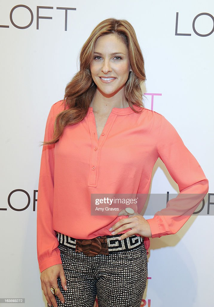 Jill Wagner attends the LOFT Pop-Up On Robertson event on March 12, 2013 in Los Angeles, California.