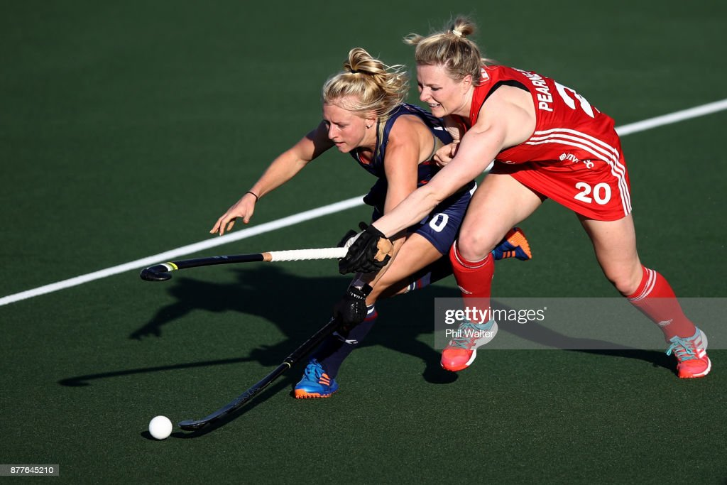 2017 Women Hockey World League - USA v England Quarter Final