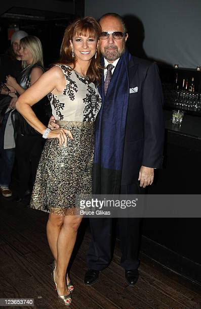Jill Zarin and husband Bobby Zarin attend Victoria de Lesseps' 16th Birthday Party at Arena on December 11 2010 in New York City