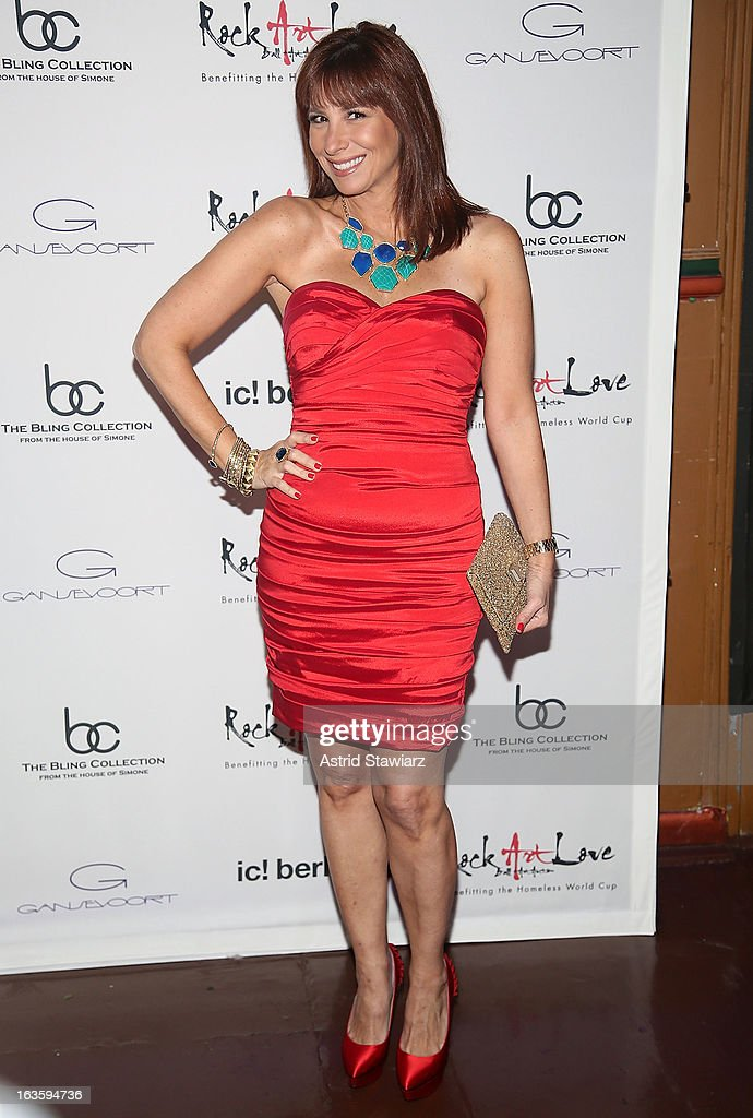Jill Zarin attends ROCK ART LOVE at The Angel Orensanz Foundation on March 12, 2013 in New York City.