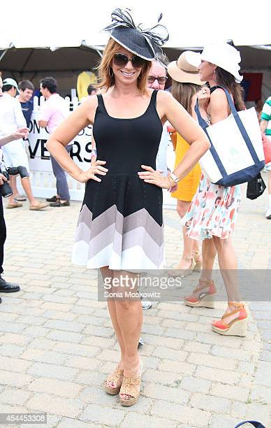 Jill Zarin attends the 39th Annual Hampton Classic Horse Show Grand Prix on August 31 2014 in Bridgehampton New York