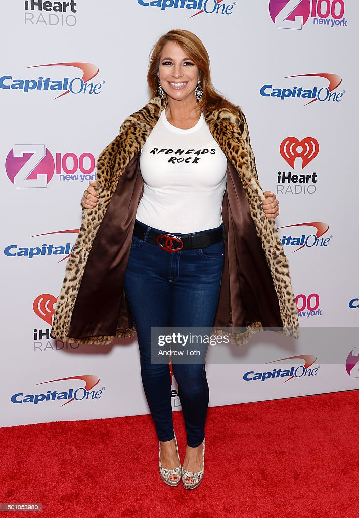 Jill Zarin attends Z100's iHeartRadio Jingle Ball 2015 arrivals at Madison Square Garden on December 11, 2015 in New York City.