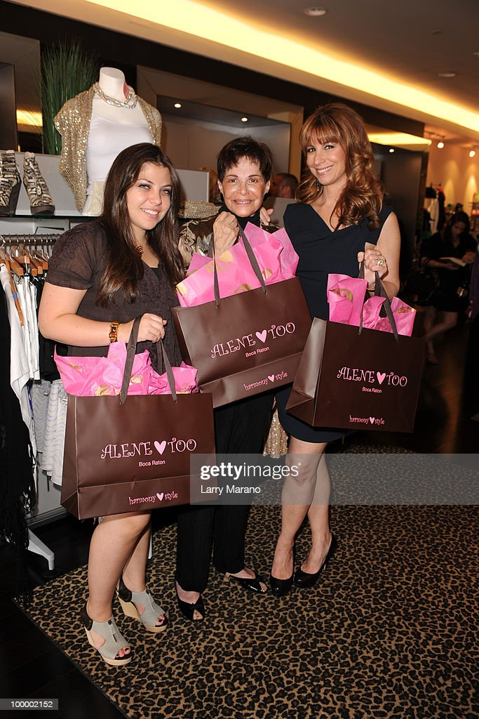 Jill Zarin (R) , her mother Gloria Kamen and daughter Ally attend a book signing for Zarin's 'Secrets of a Jewish Mother' at Alene Too on May 19, 2010 in Boca Raton, Florida.