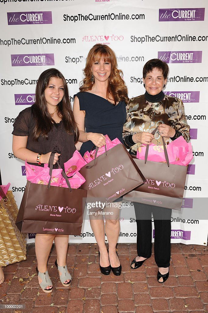 Jill Zarin (C) , her mother Gloria Kamen and daughter Ally attend a book signing for Zarin's 'Secrets of a Jewish Mother' at Alene Too on May 19, 2010 in Boca Raton, Florida.