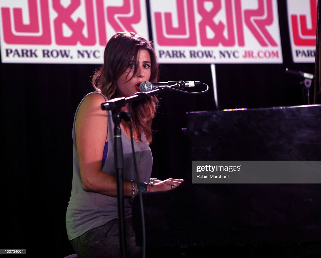 Jillette Johnson performs during J&R Music Fest 2012 at J&R Music and Computer World on August 25, 2012 in New York City.