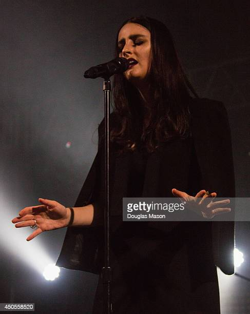 Jillian Banks 'Bank' performs during the 2014 Bonnaroo Music Arts Festival on June 12 2014 in Manchester Tennessee