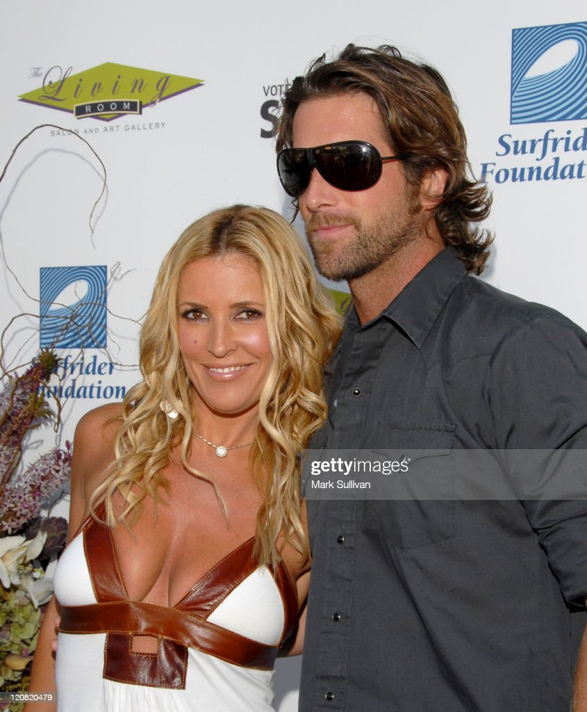 Jillian Barberie And Husband Grant Reynolds During The Living Roomu0027s 3rd  Annual Evening Extravaganza Benefiting Surfrider Part 5