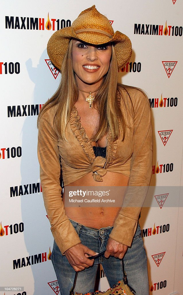 Jillian Barberie during Maxim Hot 100 Party - Arrivals at Yamashiro in Hollywood, California, United States.
