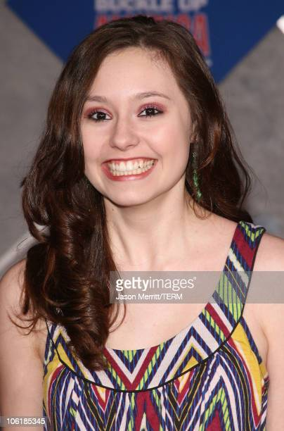 Jillian Clare attends the premiere of Walt Disney Pictures' 'College Road Trip' at the El Capitan Theatre on March 3 2008 in Hollywood California