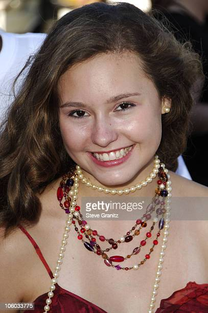 Jillian Clare during 2006 Teen Choice Awards Arrivals at Gibson Amphitheatre in Universal City California United States
