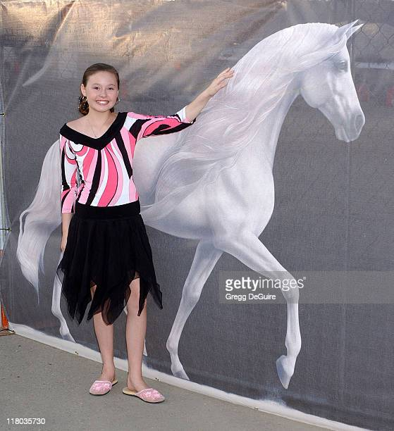 Jillian Clare during Opening Night of 'Cavalia' Arrivals at Big Top in Glendale in Glendale California United States